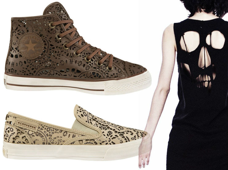 Laser cut & engraving garments and shoes